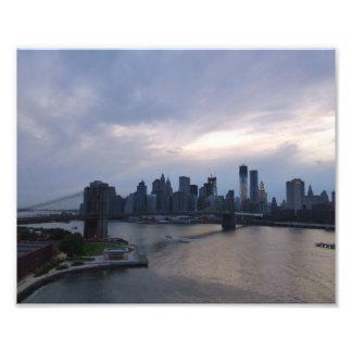 Gloaming de Manhattan Foto