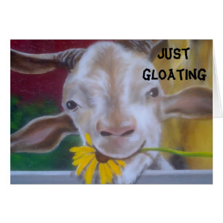 "GLOATING GOAT ""50TH BIRTHDAY"" CARD"