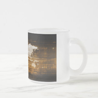 Global Access of Service and Technology Solutions Frosted Glass Coffee Mug