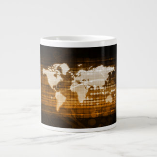 Global Access of Service and Technology Solutions Giant Coffee Mug
