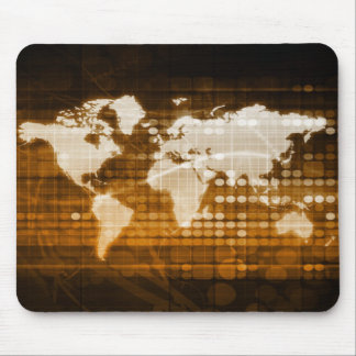 Global Access of Service and Technology Solutions Mouse Pad