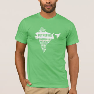 Global Action India in Multiple Colors T-Shirt