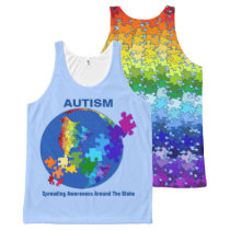 Global Autism Awareness Tank