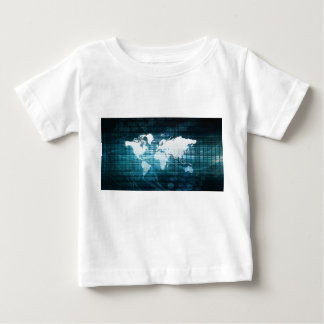 Global Business and Success in Growth Art Baby T-Shirt