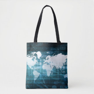 Global Business and Success in Growth Art Tote Bag