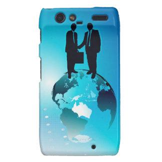 Global Business Background Motorola Droid RAZR Case
