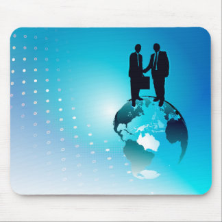 Global Business Background Mouse Pad