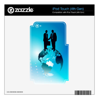 Global Business Background Decal For iPod Touch 4G