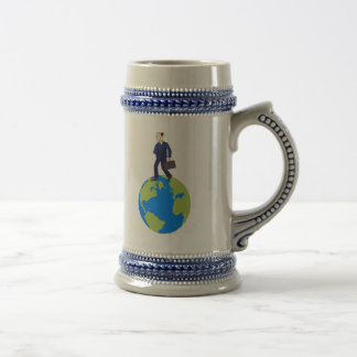 Global Business Man Coffee Mug