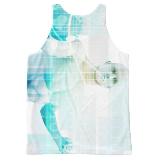 Global Business Strategy and Development All-Over Print Tank Top
