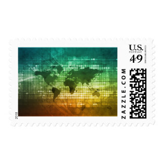 Global Business Strategy and Development Stamp