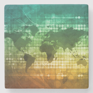 Global Business Strategy and Development Stone Coaster