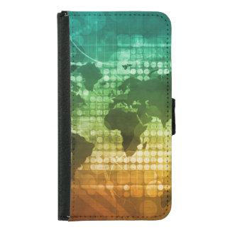 Global Business Strategy and Development Wallet Phone Case For Samsung Galaxy S5