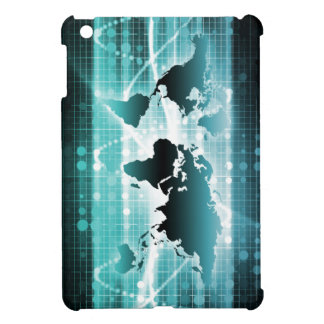 Global Business Technology Futuristic Traveler Cover For The iPad Mini