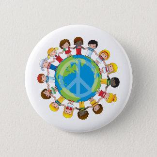Global Children Button