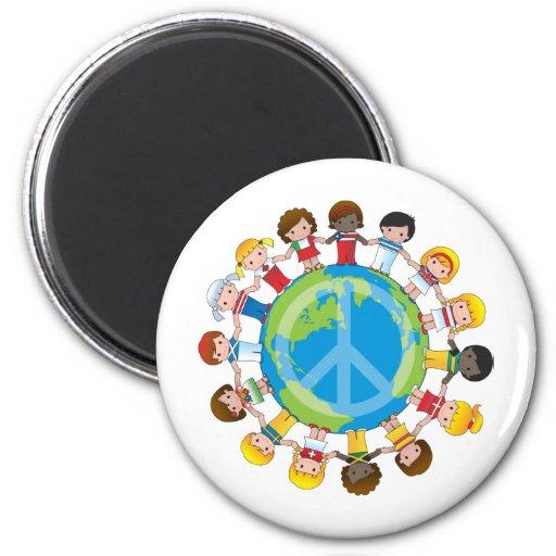 Global Children Fridge Magnets