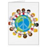 Global Children Greeting Card