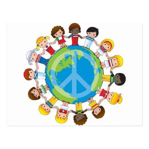 Global Children Postcards