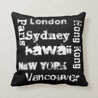 Global Cities cushion pillow