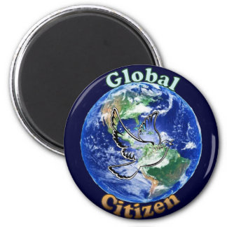 Global Citizen Peace Dove Magnet