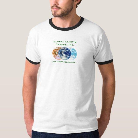 Global Climate Change, Inc. T-Shirt