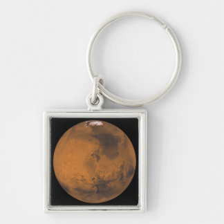 Global Color View of Mars Keychain