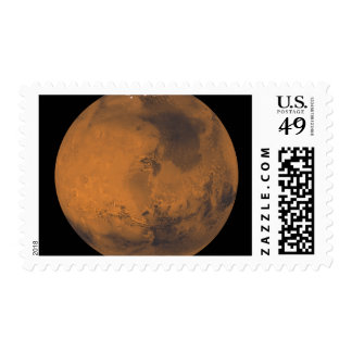 Global Color View of Mars Stamp