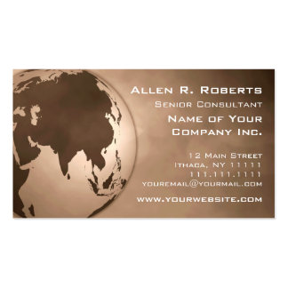 Global Commerce Asia Branch Office Corporate Business Card