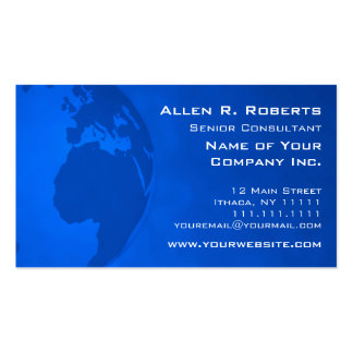 Global Commerce EMEA Business Operation Business Card