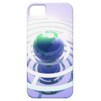 Global communication conceptual computer iPhone 5 covers