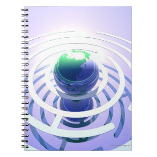 Global communication, conceptual computer note book