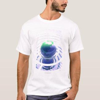 Global communication, conceptual computer T-Shirt
