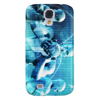 Global Conference Concept as a Abstract Background Galaxy S4 Cover
