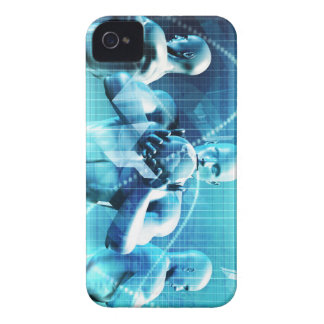 Global Conference Concept as a Abstract Background iPhone 4 Case