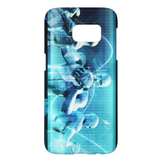 Global Conference Concept as a Abstract Background Samsung Galaxy S7 Case