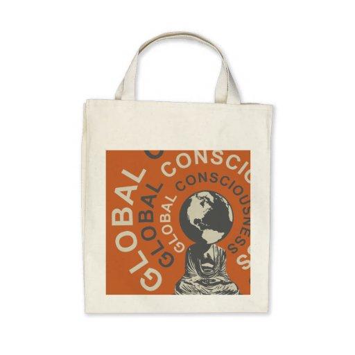 Global Consciousness Organic Tote bag