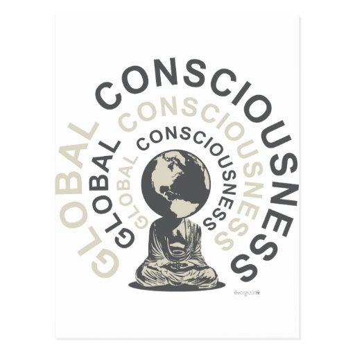 global consciousness postcard