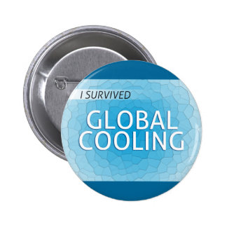 Global Cooling Pinback Button