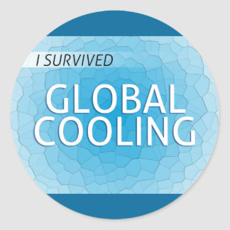 Global Cooling Classic Round Sticker