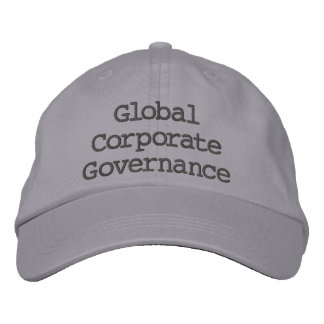 Global Corporate Governance Embroidered Hat