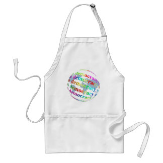 Global Democracy Adult Apron