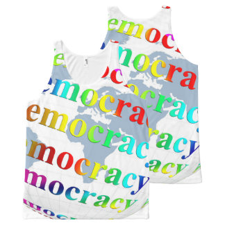 Global Democracy All-Over Print Tank Top
