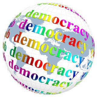 Global Democracy Cutout