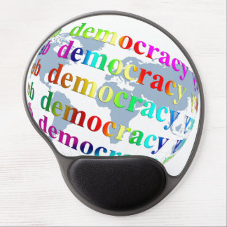 Global Democracy Gel Mouse Pad