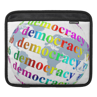 Global Democracy iPad Sleeve