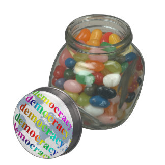Global Democracy Jelly Belly Candy Jars
