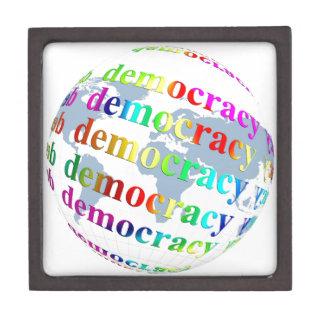 Global Democracy Jewelry Box