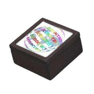Global Democracy Keepsake Box