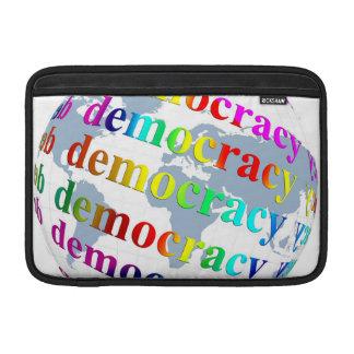 Global Democracy MacBook Air Sleeve