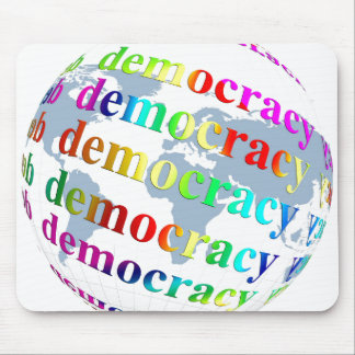 Global Democracy Mouse Pad